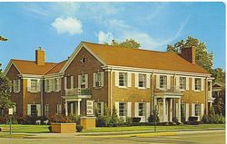 Geer Funeral Home, 1939 photo